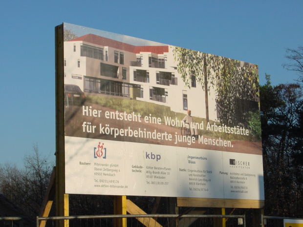 Baustelle Hausmiteinander